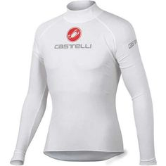 Castelli 2013 Uno Plasma Long Sleeve Cycling Base Layer - (White - L) Cycling Base Layer, Merlin Cycles, Cycling Outfit, Cycling Clothing, Wetsuit, White Jeans, All In One, Layers, Sweatshirts