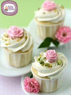 Cup Cakes al cioccolato bianco