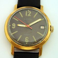 USSR Russian Gilt Watch Wostok Komandirskie 210 by irgioshop, $99.99