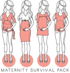 Maternity Survival Pack - patterns to buy!