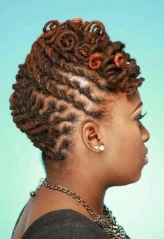 hairstyles for medium length dreadlocks - Google Search