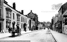 Glastonbury, High Street 1909, from Francis Frith