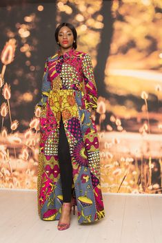 African Fashion For Ladies / New In African Inspired Fashion, African Print Fashion, Africa Fashion, Fashion Prints, Ankara Fashion, African Maxi Dresses, Shweshwe Dresses, Mode Wax, Wedding Dress With Pockets
