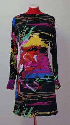 Painted Dress by AquillaDesignCompany on Etsy