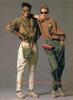 || Desert Lily Vintage || Seventeen Magazine - 1987