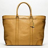 BLEECKER LEGACY LEATHER WEEKEND TOTE - Coach