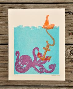 Hey, I found this really awesome Etsy listing at http://www.etsy.com/listing/96031899/limited-edition-lost-at-sea-octopus-vs