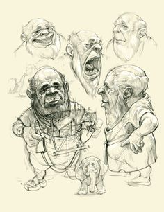 Noe by MAJOS Illustrations , via Behance