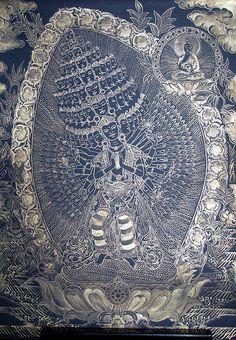 Thangka Avalokitesvara