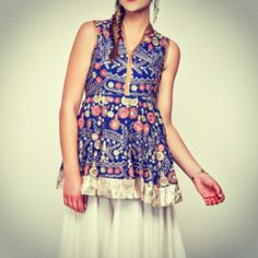 """#sonaliguptadesigns #embroidery #ethnic #chic #cute #blue #collection #lookoftheweek #ourfavourite #happyshopping"""""""