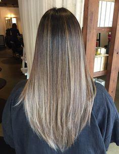 10 Balayage Straight Hair Ideas
