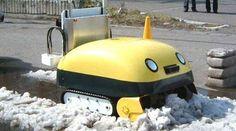 日本のロボット擬人化が止まらない!超高性能なのにかわいい顔をした自立運行型除雪ロボット「ゆき太郎」