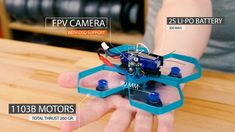 3D printed mini quadcopter by Jan Olejník #practical