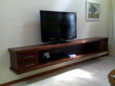 Floating TV Stand - DoItYourself.com Community Forums