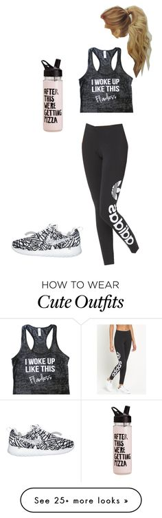 """Work out outfit"" by jimenezcy on Polyvore featuring adidas Originals"