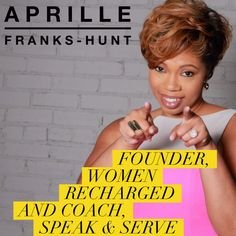 Aprille Franks-Hunt is one of our VIP Mastermind Day Power Presenters and we're certain you don't want to miss your chance to learn from her. OPEN ME!