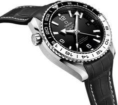 Omega Seamaster Planet Ocean Master Chronometer GMT Watch