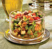 Healthy Dessert Recipes, Desserts, Couscous, Vinaigrette, Guacamole, Meals, Vegan, Fresh, Dinner