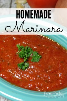 Marinara sauce from a jar? Never again once you make this recipe! It is so simple to make and taste better than anything you will ever get in a jar! Try it and it will be your family's go to favorite every time.  Make Homemade Marinara!!