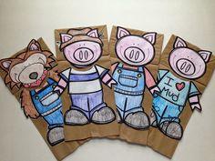 Teach-Dream-Inspire: The Three Little Pigs {A Fairy Tale Study}