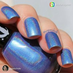 Hey, I found this really awesome Etsy listing at https://www.etsy.com/listing/233569042/tanzanite-sky-holographic-small-6ml-nail