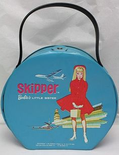 Vintage 1964 Skipper at the Airport Carrying Case