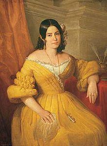 Gertrudis Gómez de Avellaneda , llamada coloquialmente «Tula», fue una escritora y poetisa del romanticismo hispanoamericano. Precursora del feminismo en España y una de las más grandes poetisas de la lengua castellana (...) Está considerada, además, como una de las precursoras de la novela hispanoamericana