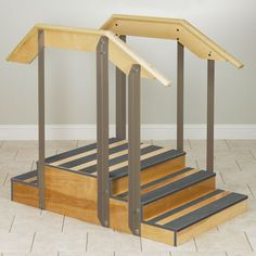 """Physical Therapy Staircase, Compact Up/Down Straight style, 36""""w"""