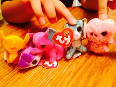 2b7b5b9518f Teenie Beanie Boos Spells and Glamour McDonalds Happy Meal Toys 2014