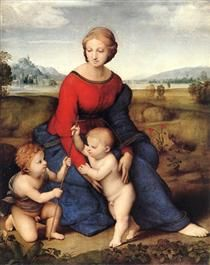 Madonna in the Meadow - Raphael
