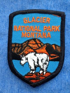 Glacier National Park Montana Vintage Travel by HeydayRetroMart, $10.00