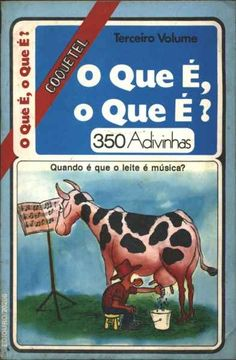 Livro Coquetel O Que É, O Que É? - volume 3.