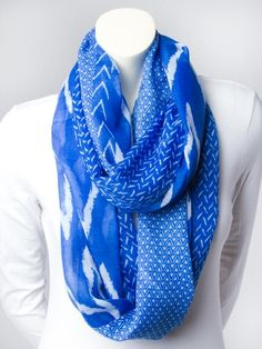 #LoveVanity Zig-Zag Eternity Scarf - Scarves - Accessories
