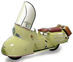 Maico Mobil: an early touring motorcycle made by Maico between 1950 and 1958, assembled in Pfäffingen, Germany.