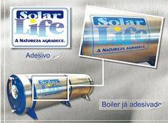 Nova Logo para Solar Life - Saunas e Aquecedores.