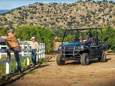 New 2015 Kawasaki Mule PRO-FXT EPS ATVs For Sale in California. 2015 KAWASAKI Mule™ PRO-FXT™ EPS, The new Kawasaki Side x Side is capable and comfortable, ready for adventure or your toughest jobs. The all-new King of Mules is the 2015 Kawasaki Mule PRO-FXT. This highly capable unit mixes Side x Side versatility with class-leading torque, making it the fastest and most powerful Mule ever. It also has new configurable Trans Cab seating for three or six passengers, along with more comfort and…