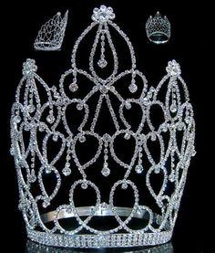 Beauty Pageant Royal Empress Rhinestone Crown Tiara