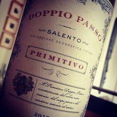 Doppio Passo Salento Primitivo 2012: Einen Doppelten, bitte!
