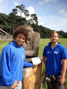CBBC presenter Radzi Chinyanganya joined the Tribe this week as he tackled our tree-tops at #Margam in South Wales. He also joins the Blue Peter team mid-October
