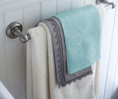 DIY Dyed Tip Towels | House & Home