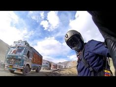 Highest Road in the World on a Motorcycle. Cool video!