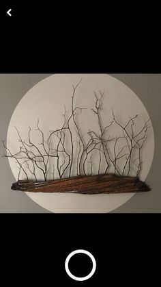 Ideas Drift Wood Art For 2019 art diy art easy art ideas art painted art projects Driftwood Projects, Driftwood Art, Driftwood Mobile, Driftwood Wreath, Twig Art, Branch Decor, Branch Art, Wooden Art, Art On Wood