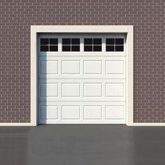 Garage Door Decorative Faux Windows Kit In 2020 Garage Door Design Garage Doors Faux Garage Door Windows