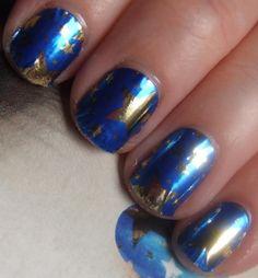 50 Ideas para pintar uñas color azul - Blue Nails | Decoración de Uñas - Manicura y Nail Art