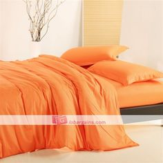 blue and orange bedrooms | ... Cheap Bedding Sets > Cheap Solid Bedding > Cheap Orange Solid Bedding