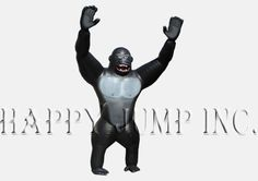 """This huge Inflatable Gorilla will attract attention to any event or business"""""""""""