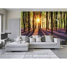 00952 Woodland at Dawn Wall Mural