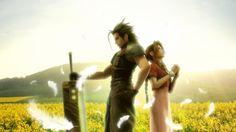 Final Fantasy VII - Zack and Aerith
