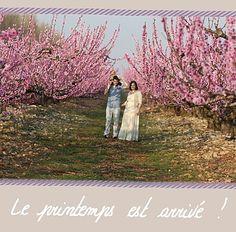 Vive le printemps - © Coeur de Papiers & Jean Fontana