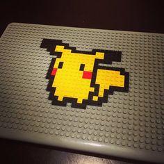 Pikachu Pixel Art from BrikBook.com pikachu, pokemon fan art, pokemon pixel art, pikachu art, pokemon collector, macbook, macbook case, pixel, pixel art, 8bit Shop more designs at http://www.brikbook.com #pikachu #pokemonfanart #pokemonpixelart #pikachuart #pokemoncollector #macbook #macbookcase #pixel #pixelart #8bit